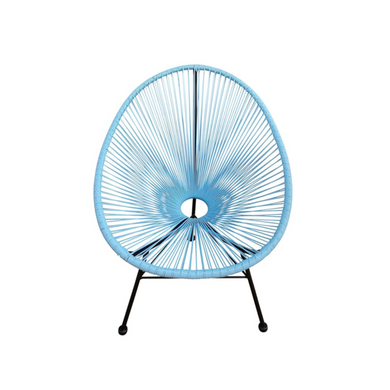 Reproduction of Acapulco Chair - Light Blue