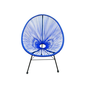 Reproduction of Acapulco Chair - Dark Blue
