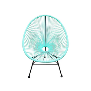 Reproduction of Acapulco Chair - Green Water