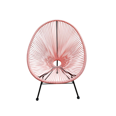 Reproduction of Acapulco Chair - Light Pink