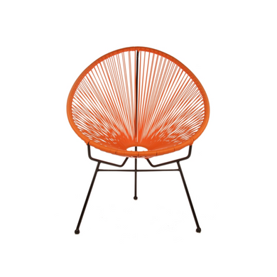 Reproduction of Acapulco Chair - Orange