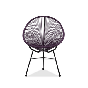 Reproduction of Acapulco Chair - Purple