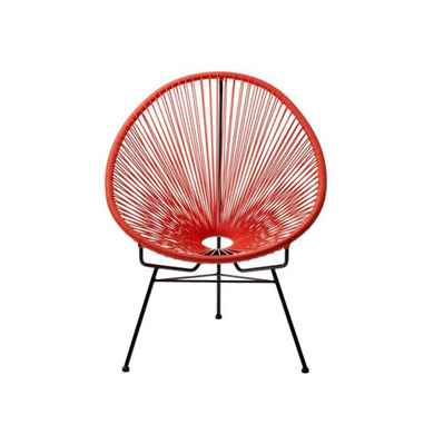 Reproduction of Acapulco Chair - Red
