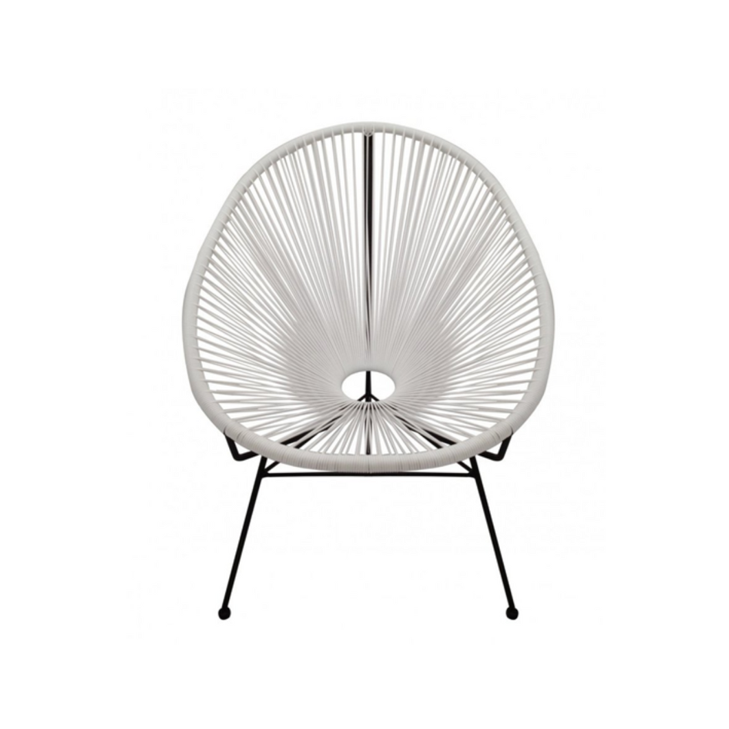 Reproduction of Acapulco Chair - White