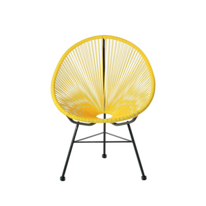 Reproduction of Acapulco Chair - Yellow