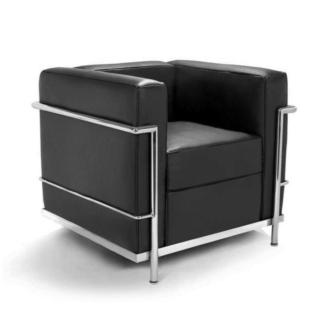 Reproduction of Le Corbusier LC2 Le Petit Confort Armchair