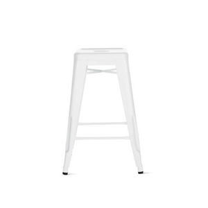 Reproduction of Xavier Pauchard Tolix Counter Stool - White
