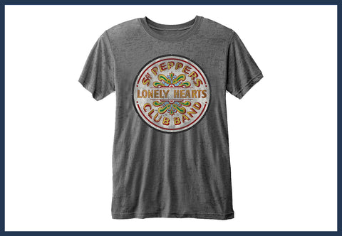 The Beatles Sgt Pepper Drum T-Shirt