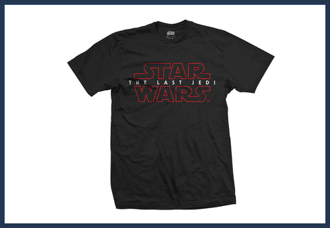 Star Wars The Last Jedi Logo T-Shirt