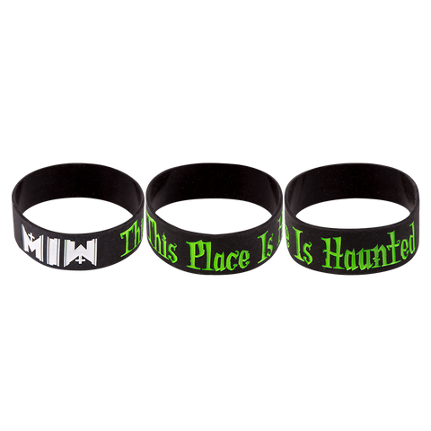 Haunted Rubber Bracelet