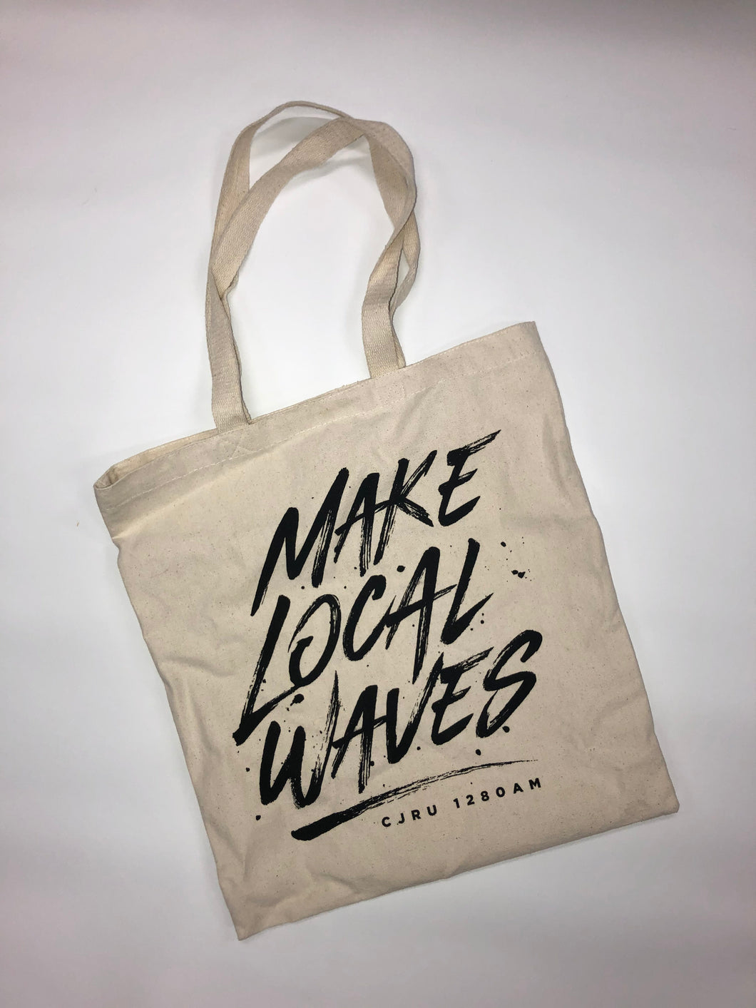Make Local Waves Tote