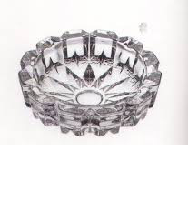 GLASS ASH TRAY 118*68*31mm-1*1*48