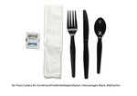 250 - Cutlery Kit Heavy-Weight PP