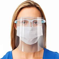 10 Face Shield With Glasses