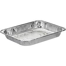 100 - Half Shallow Aluminum Steam Table Pan