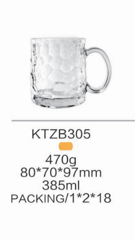 36 - Beer Mugs 385ml