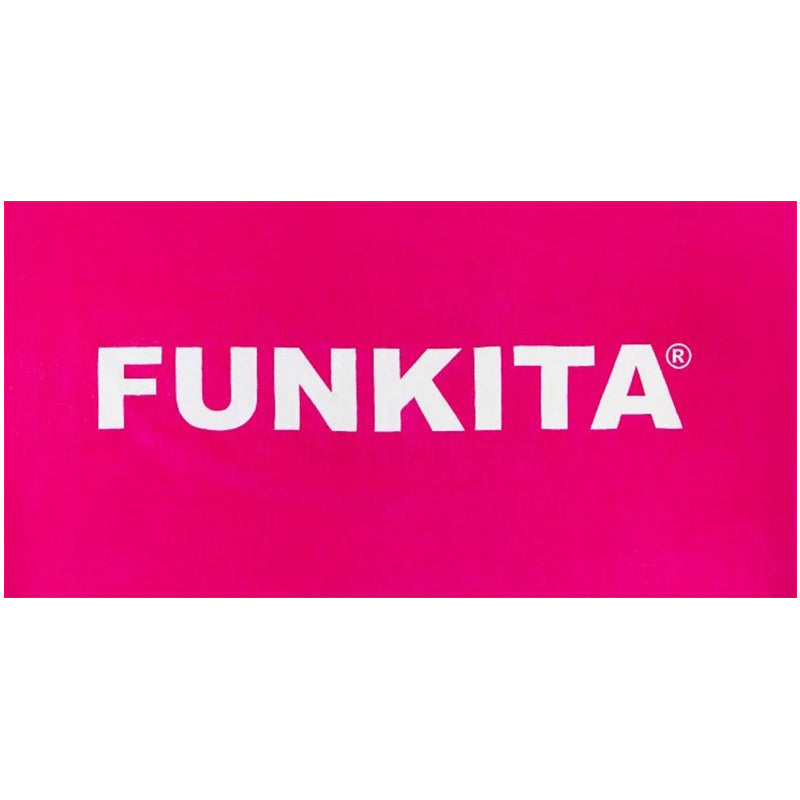 Funkita - Still Pink Towel - Pink and White