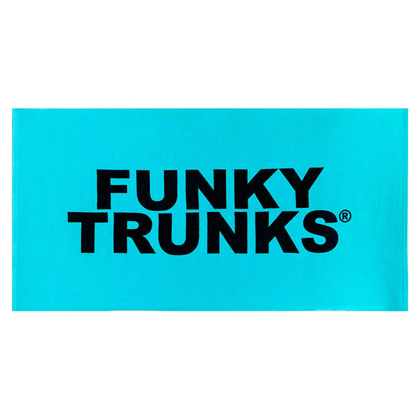 Funky Trunks - Still Lagoon Towel Turq / Black