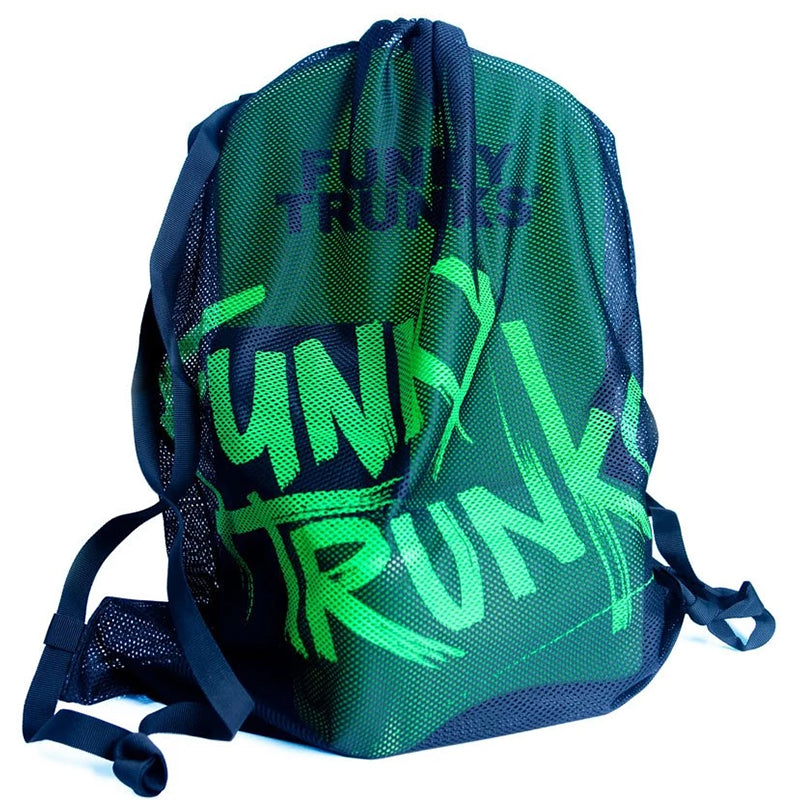 Funky Trunks -  Mesh Bag - Still Black