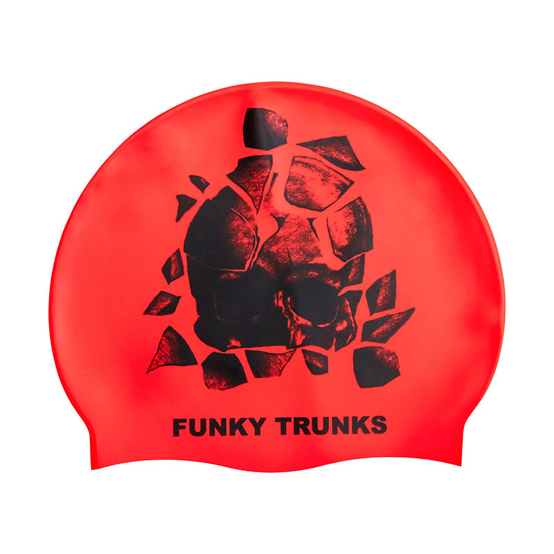 Funky Trunks - Bone Head Silicone Swimming Hat