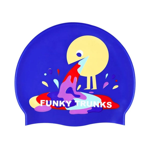 Funky Trunks - Hurley Silicone Swim Hat