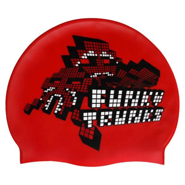Funky Trunks Silicone Swim Hat - Atari Attack