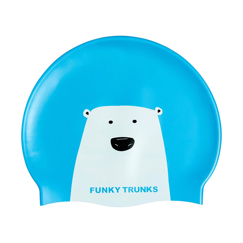Funky Trunks Silicone Swim Hat - Bear Grills