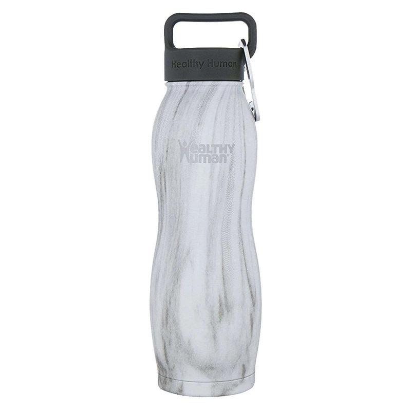 Healthy Human Curve Water Bottle - Stone White 21oz (620ml)