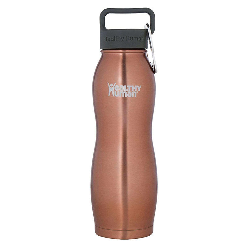 Healthy Human Curve Water Bottle - Sunset Gold 21oz (620ml)