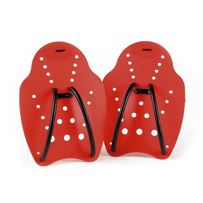 Maru - Large Hand Paddle Red