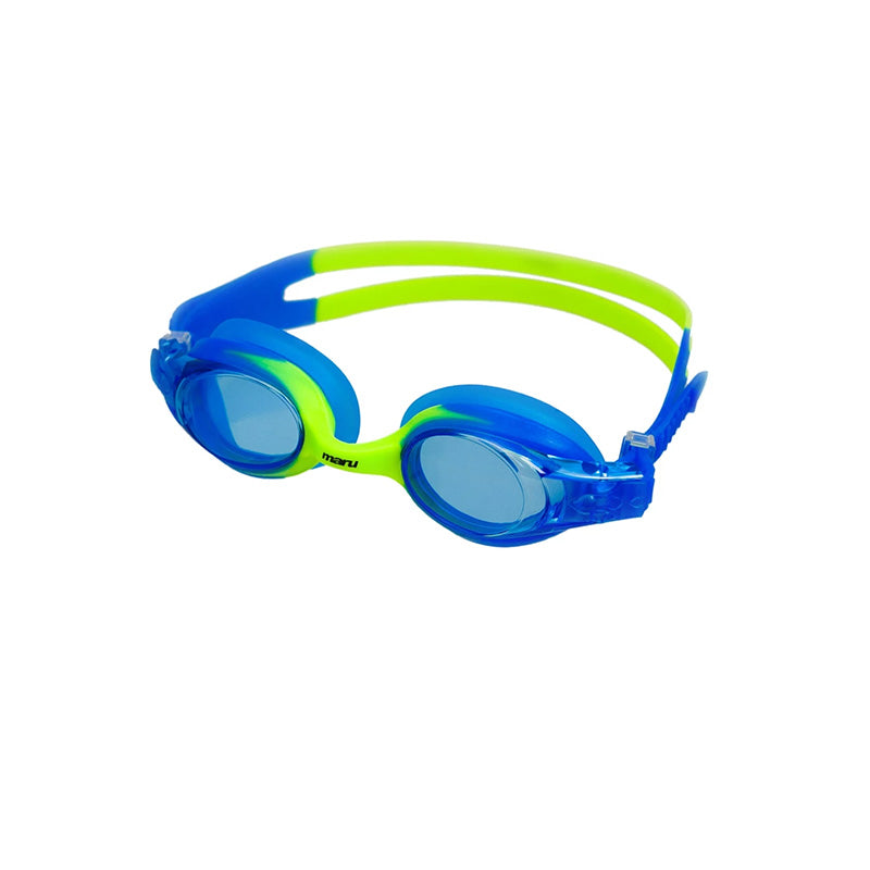 Maru - Sprite Anti Fog Junior Goggle - Blue/Blue/Lime