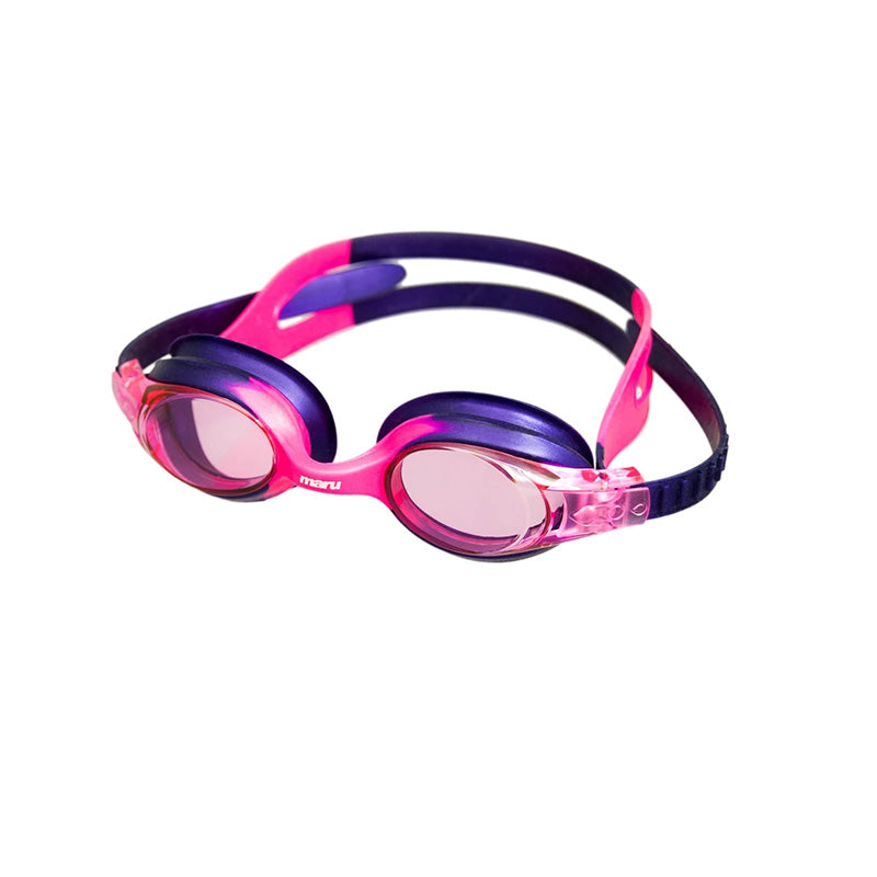 Maru - Sprite Anti Fog Junior Goggle - Pink/Pink/Purple
