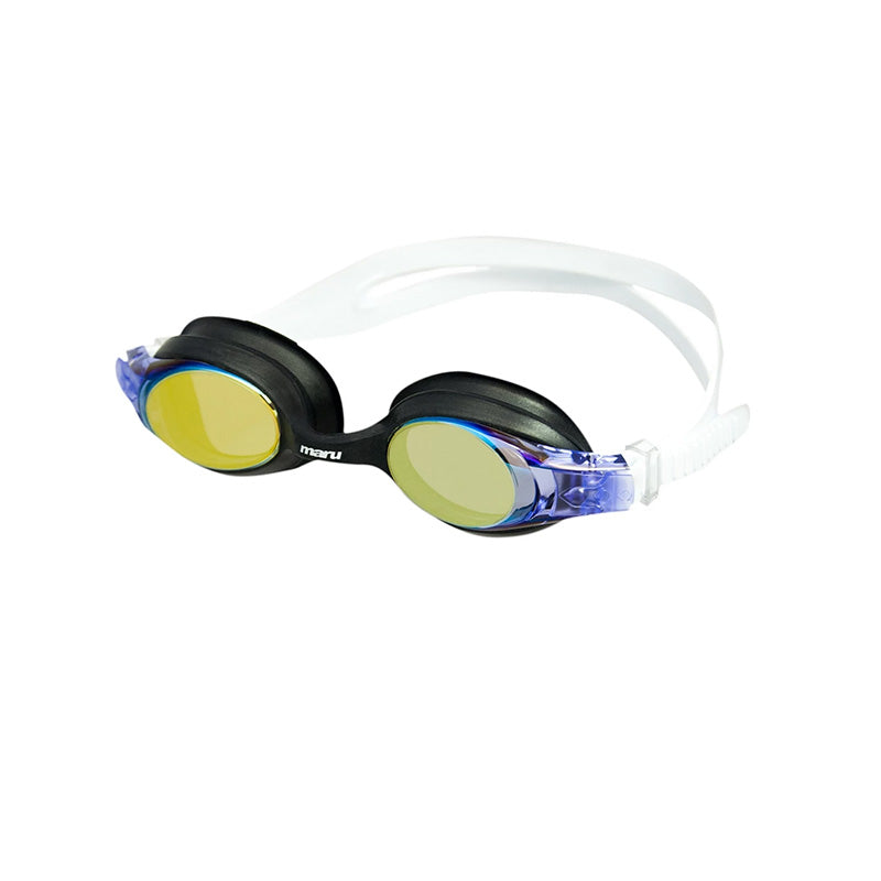 Maru - Storm Mirror Anti Fog Junior Goggle - Lilac/White