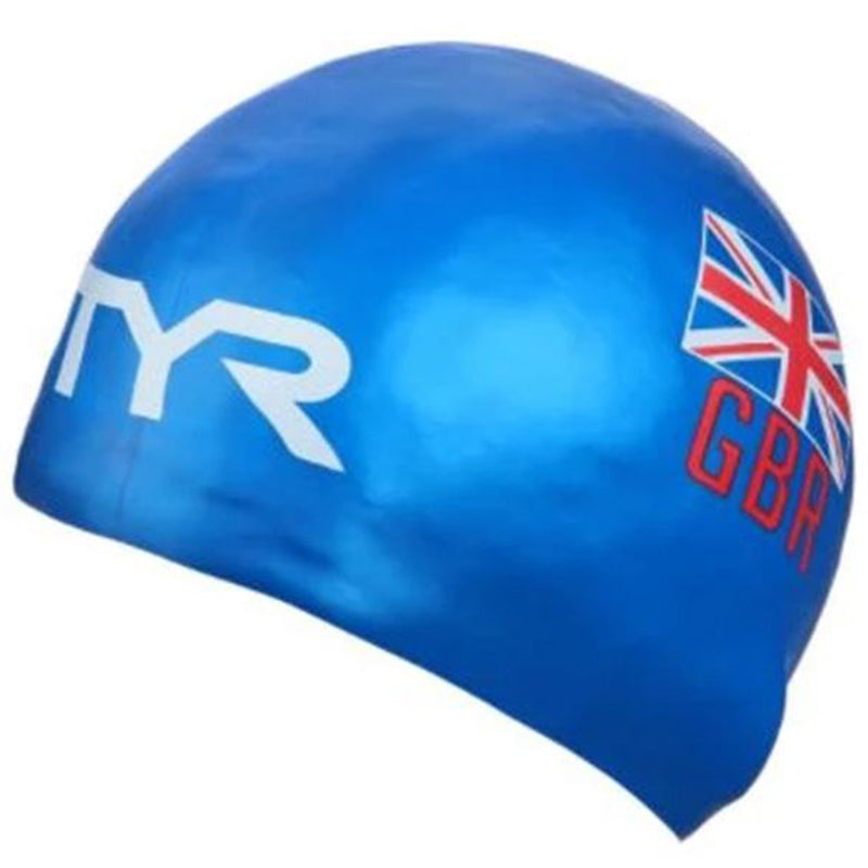 TYR - GB Silicone Hat - Blue