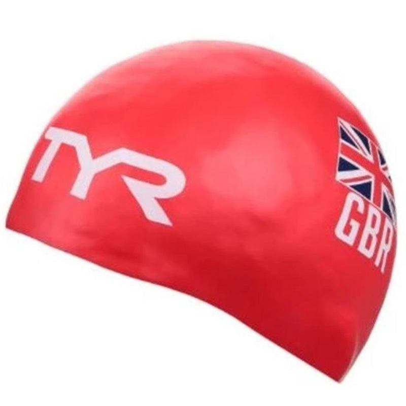 TYR- GB Silicone Hat - Red