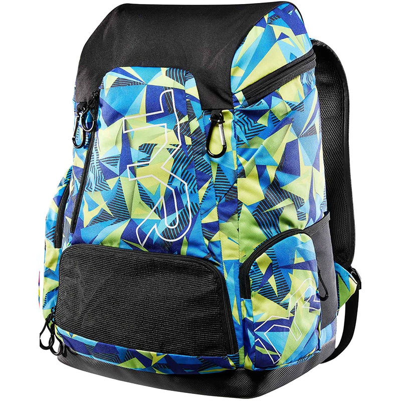 TYR - Alliance 45L Backpack Geo Print - Blue/Green
