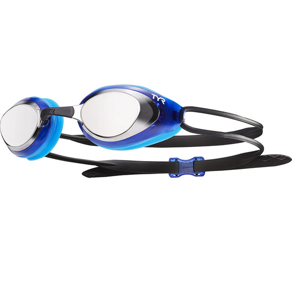 TYR - Blackhawk Racing Mirrored Goggles - Silver/Blue/Black