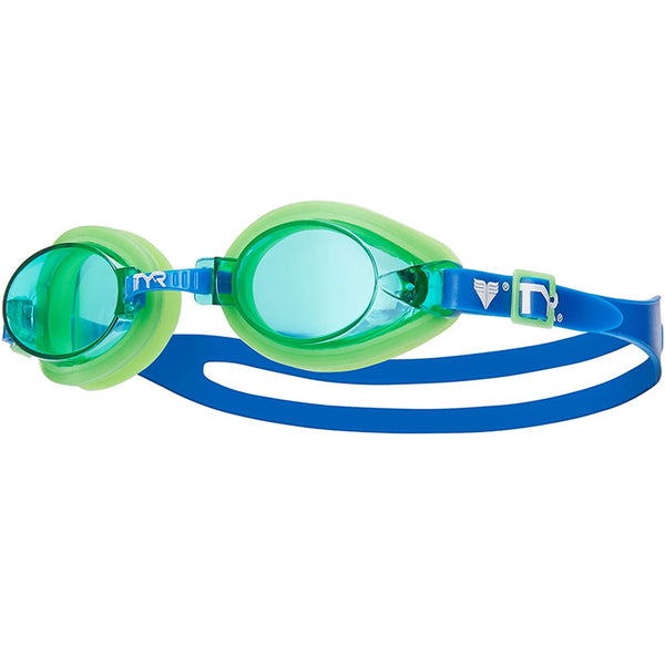 TYR - Kids Qualifier Goggles - Blue/Green