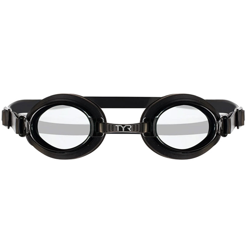 Tyr - Kids Qualifier Goggles Black Smoke - 041