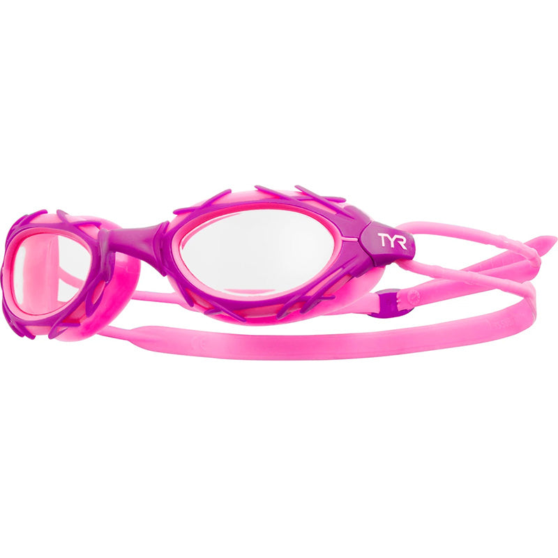 TYR - Nest Pro Nano Goggles - Clear/Purple/Pink