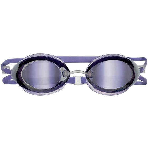 TYR - Tracer Racing Femme Mirrored Goggles - Periwinkle Metallic