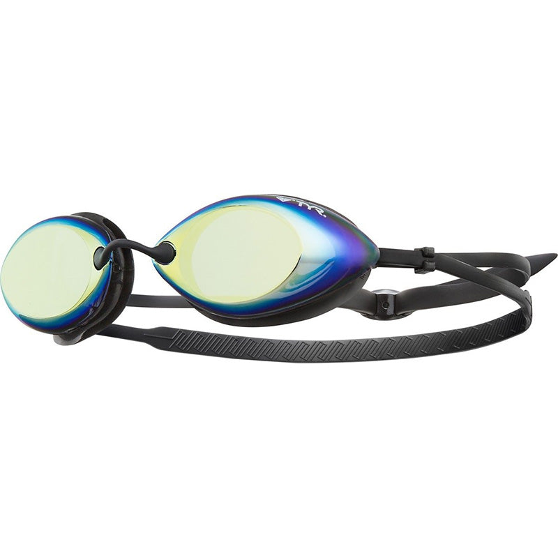 TYR - Tracer Racing Mirrored Goggles - Metallic Fire