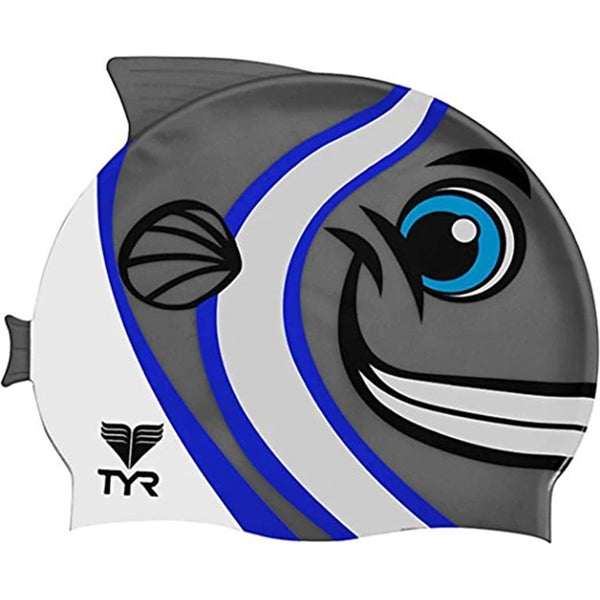 TYR - Fish Silicone Swim Hat