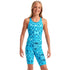 Amanzi - Blue Lagoon Girls Knee Length Swimsuit