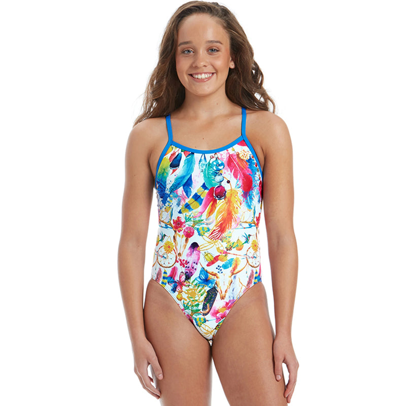 Amanzi - Bohemian Dreams Girls One Piece Swimsuit