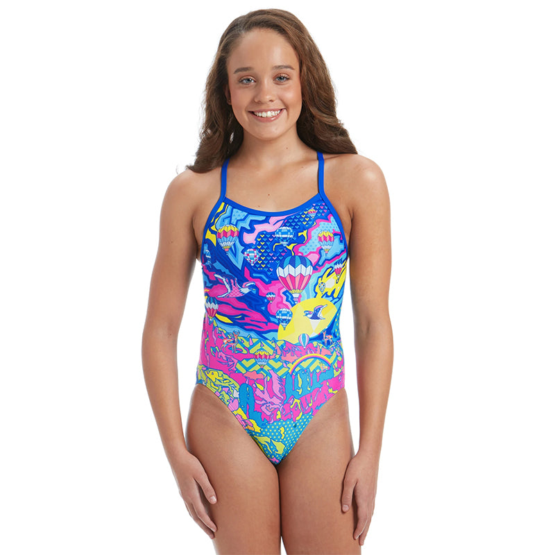 Amanzi -  Fly Away Girls One Piece Swimsuit