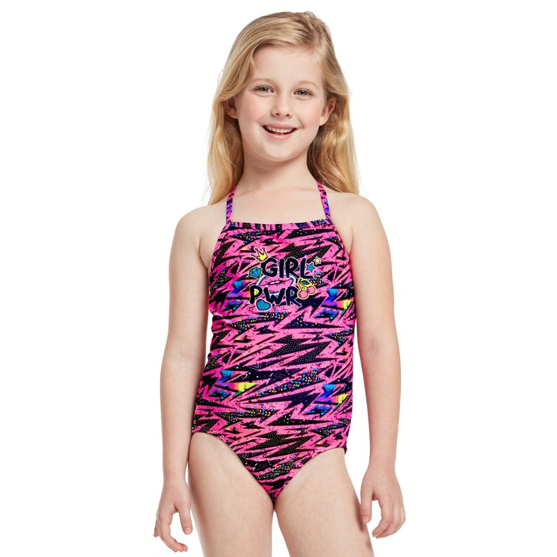Amanzi - Girl Power Toddler Girls One Piece