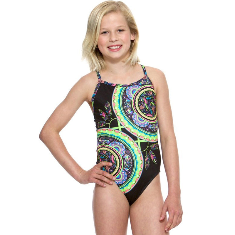 Amanzi - Dreamcatcher Girls One Piece Swimsuit