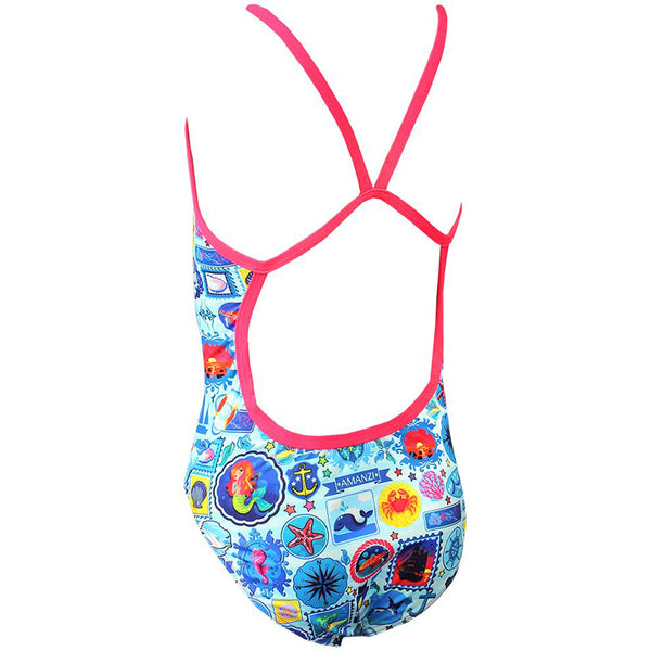 Amanzi - Seafarer Girls One Piece Swimsuit