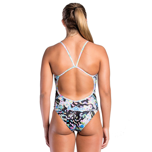 Amanzi - Fleur De Noir Ladies One Piece Swimsuit